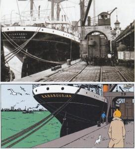 Imagen de los 2 barcos