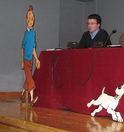 Pedro Rey en la Mesa Redonda