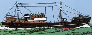 El barco Sirius