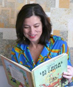 Grandes tintinófilos: Cristina Sampere