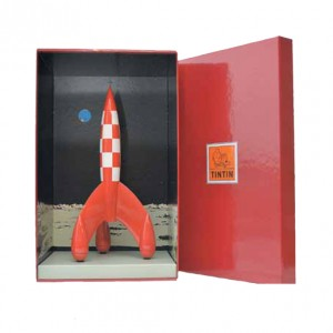 Imagen del cohete en su caja