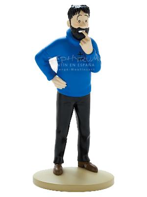 Figura de PVC del Capitán Haddock