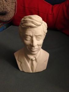 Busto de Hergé