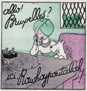 Imagen con el título de la exposición