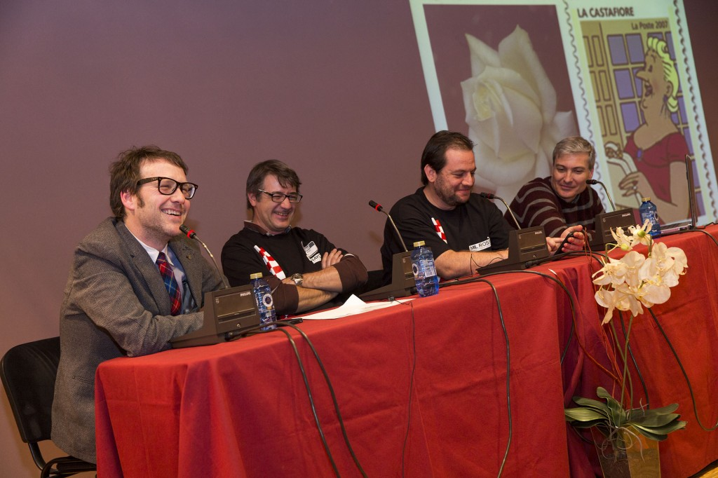 Momento de la mesa redonda. Foto de Jesús Caso