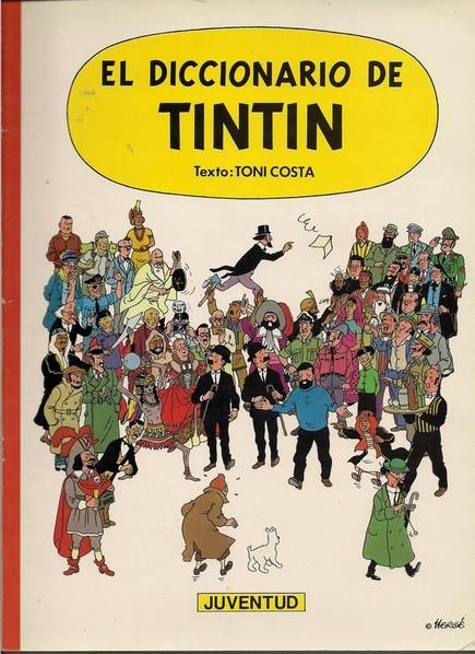 """Portada de """"El diccionario de Tintín"""""""