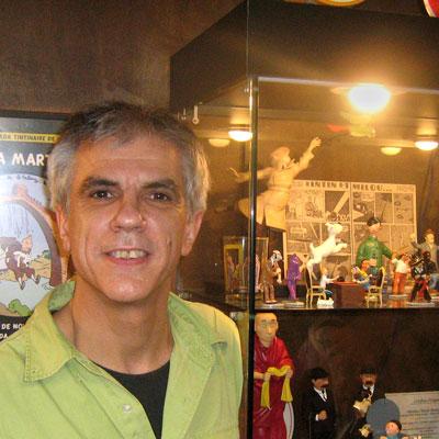 Grandes tintinófilos: Toni Costa