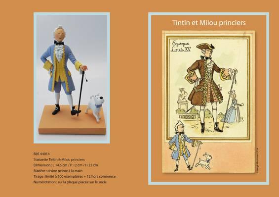 Tintín y Milú príncipes. © Hergé / Moulinsart