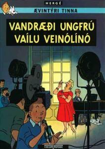 Portada del libro en islandés