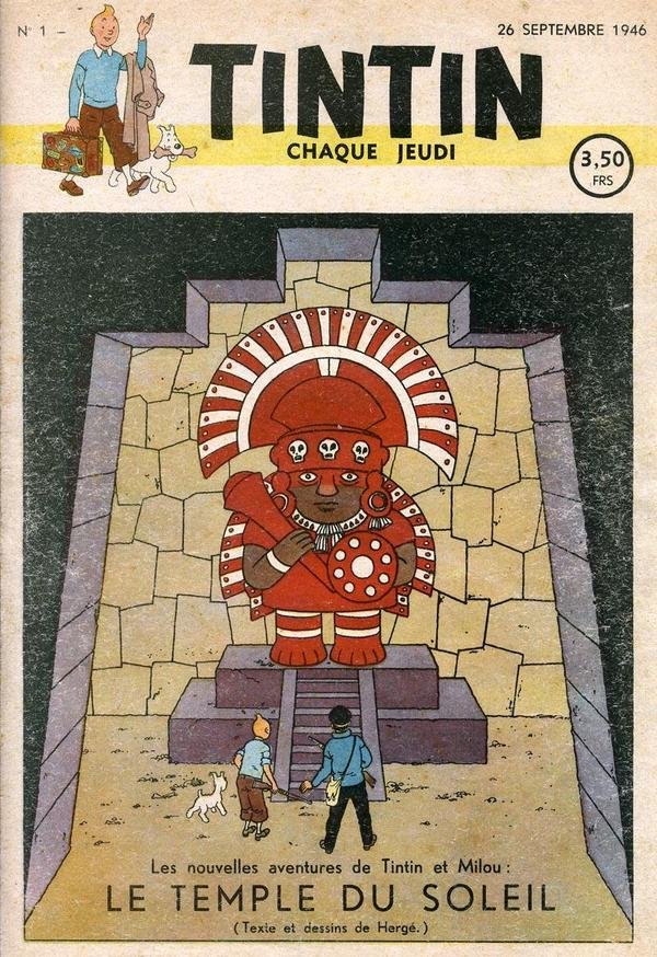 Primera portada de la revista