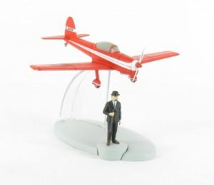 Uno de los aviones de la colección