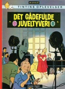 Portada del libro en danés
