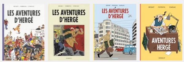 Portadas de las 4 ediciones