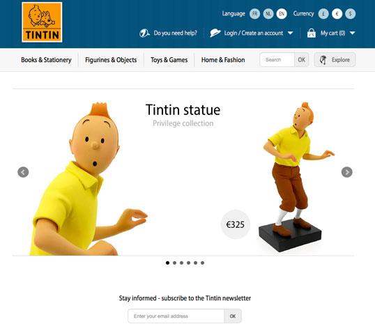 Web de la tienda oficial