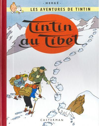 Portada de Tintín en el Tíbet. @ Hergé/Moulinsart