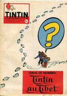 Portada de la revista francesa. @ Hergé/Moulinsart