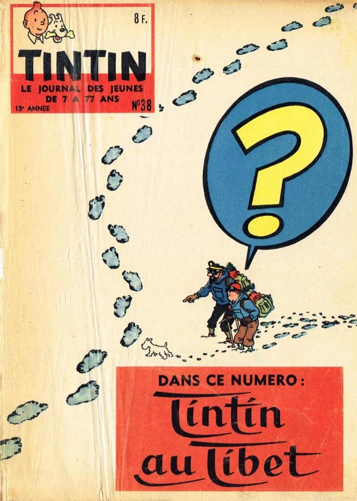 Portada de la revista belga. @Hergé /Moulinsart