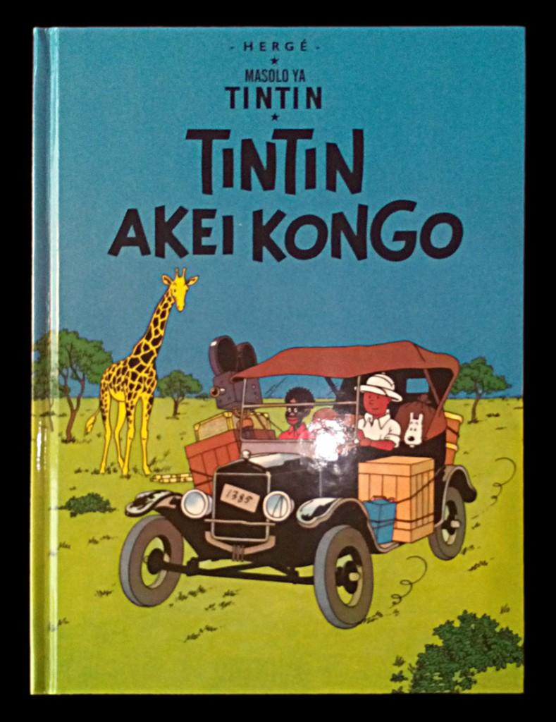 Portada del libro en idioma Lingala