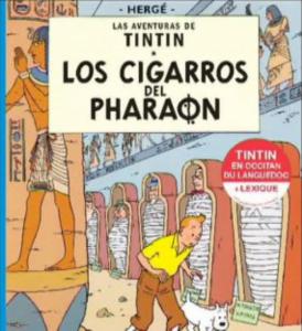 Portada del libro en occitano