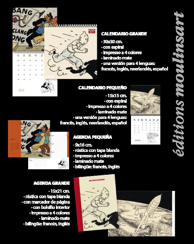 Calendario y agenda 2017