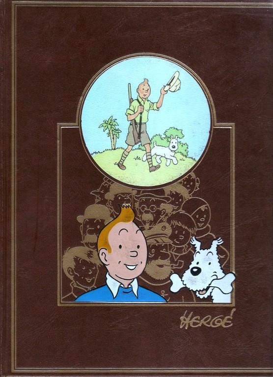 Portada del Tomo I de L'Ouvre integral d'Hergé.