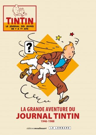 Portada de La grande aventure du journal Tintin