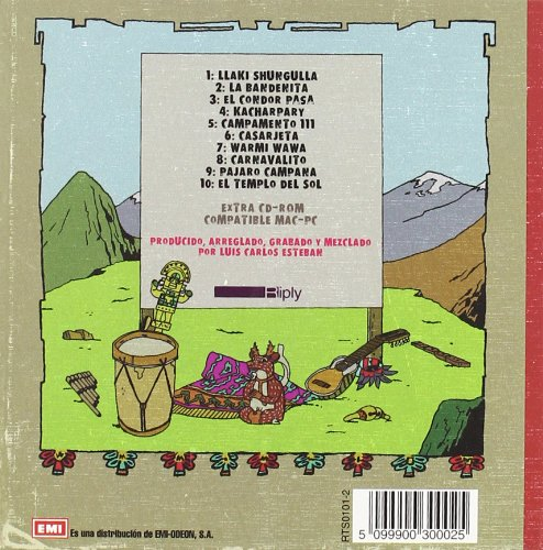 Contraportada del CD