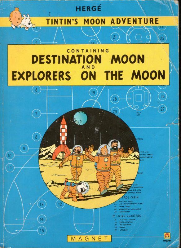 Portada del recopilatorio lunar