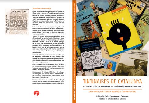 "Portada del libro ""Tintinares de Catalunya"""