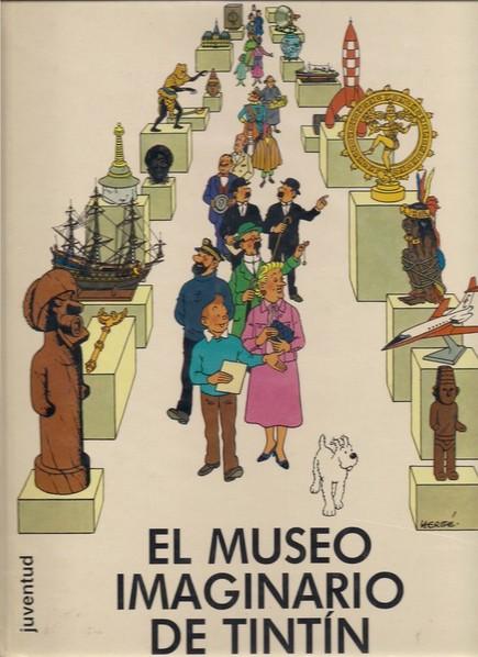 Portada de El museo imaginario de Tintín