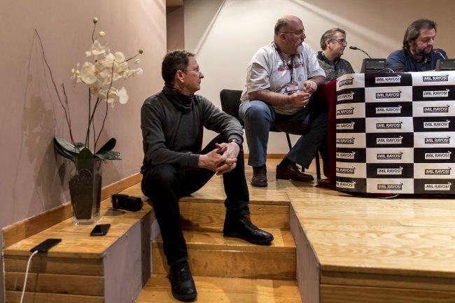 Jesús Caso, Nino Paredes, José Luis Povo y Fernando Rodríguez