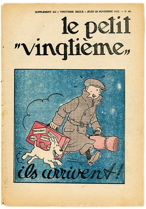 Portada de Le petit vingtième de 1935