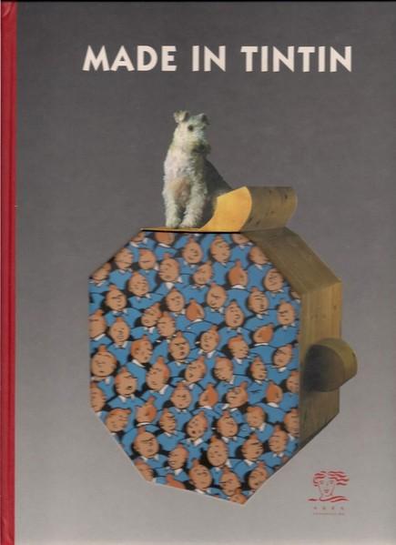 "Portada del catálogo de la exposición ""Made in Tintin"""