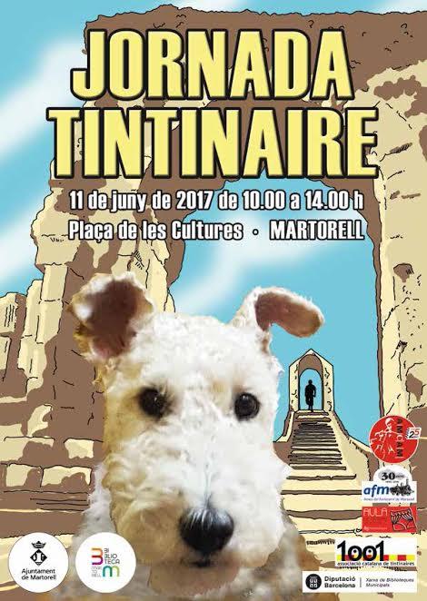 "Cartel de la Jornada ""tintinaire"" de Martorell"