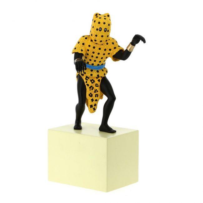 Figura del hombre leopardo