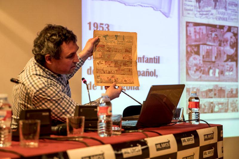 Alejandro Martínez durante su explicación. Foto: © Jesús Caso