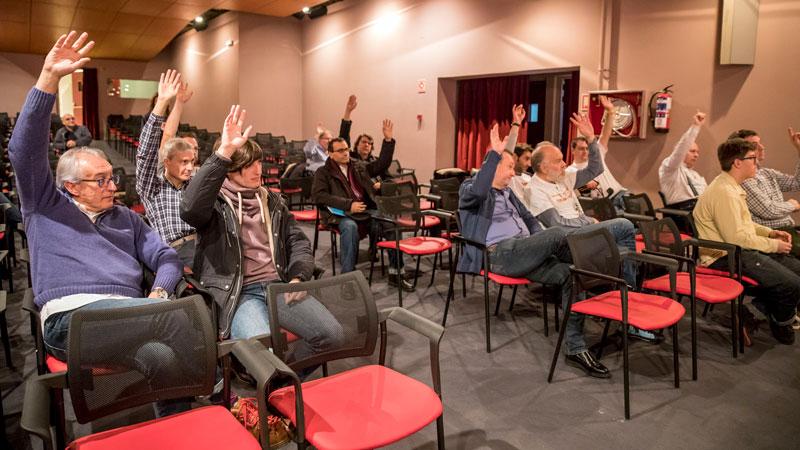 Momento de la asamblea. Foto: © Jesús Caso