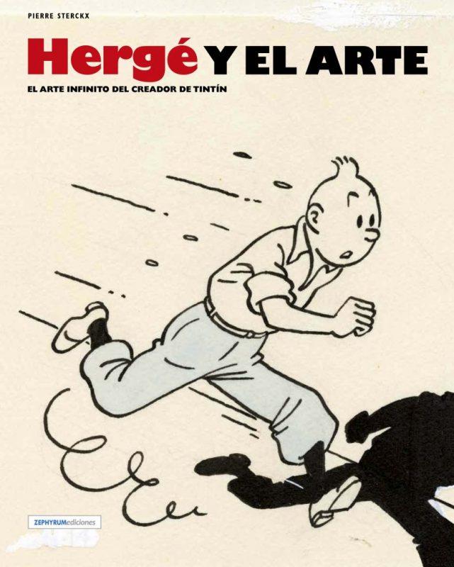 """Portada del libro """"Hergé y el arte"""""""