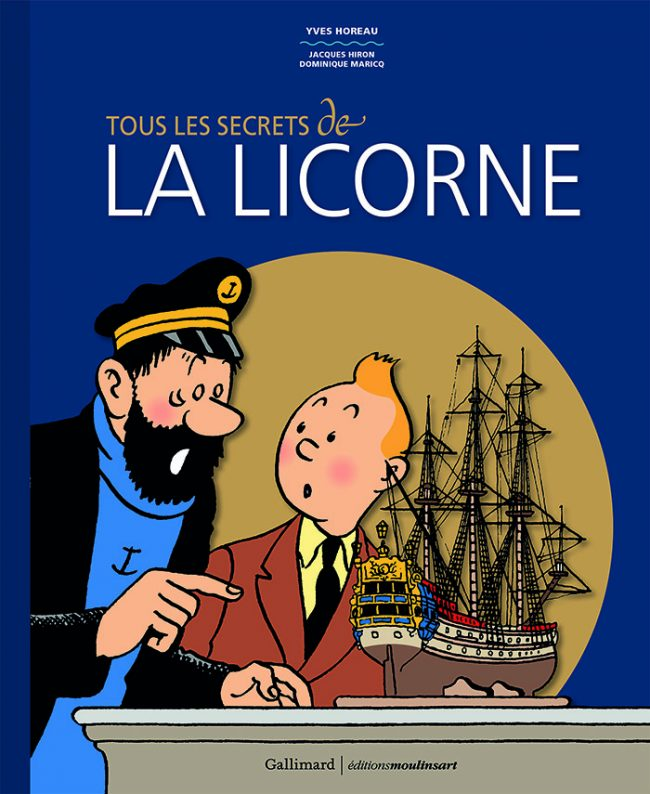 Portada del libro Tous les secrets de «La Licorne»