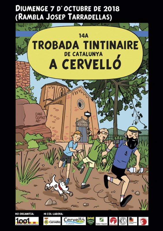 Cartel del 14º Encuentro Tintinaire