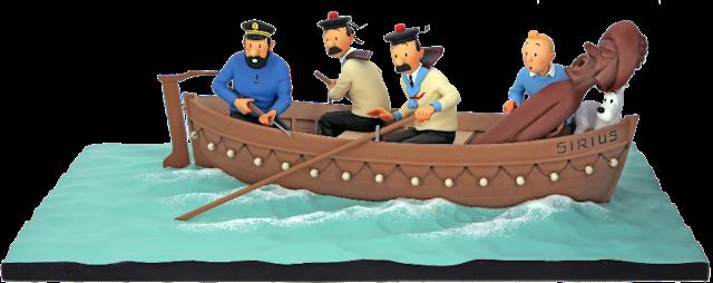 Figura del bote del Sirius