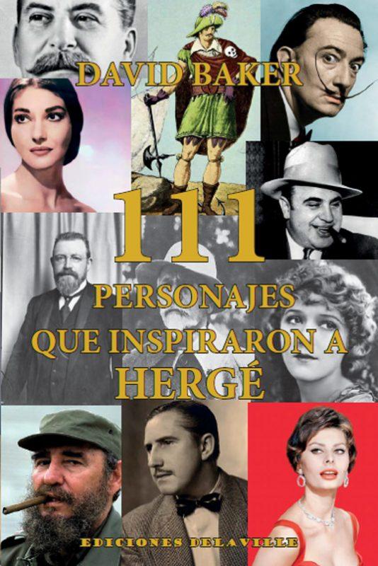 Portada del libro 111 Personajes que inspiraron a Hergé