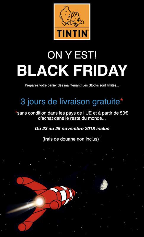 Promoción por el Black Friday