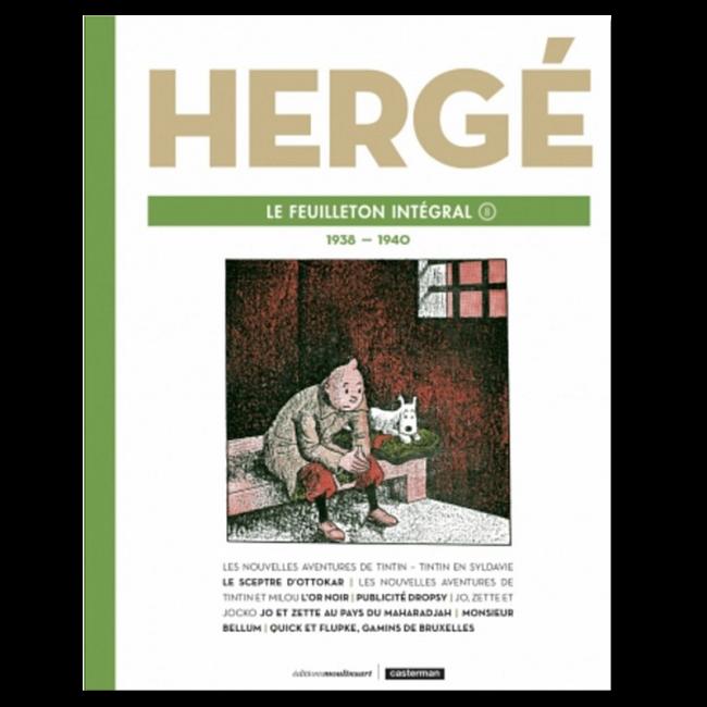 Portada del Feuilleton integral Hergé 8