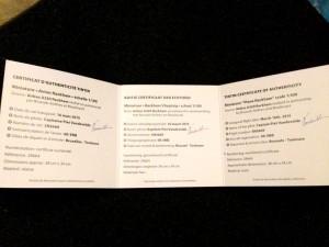 Certificado de autenticidad (2)
